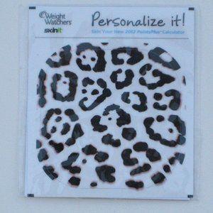 *Weight Watchers Point Calculator Leopard Skin